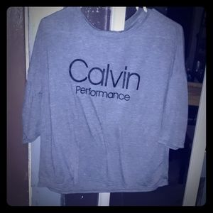 Calvin Klein Elbow Length Shirt